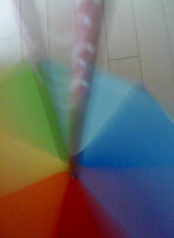 虹を廻したら何色になる?